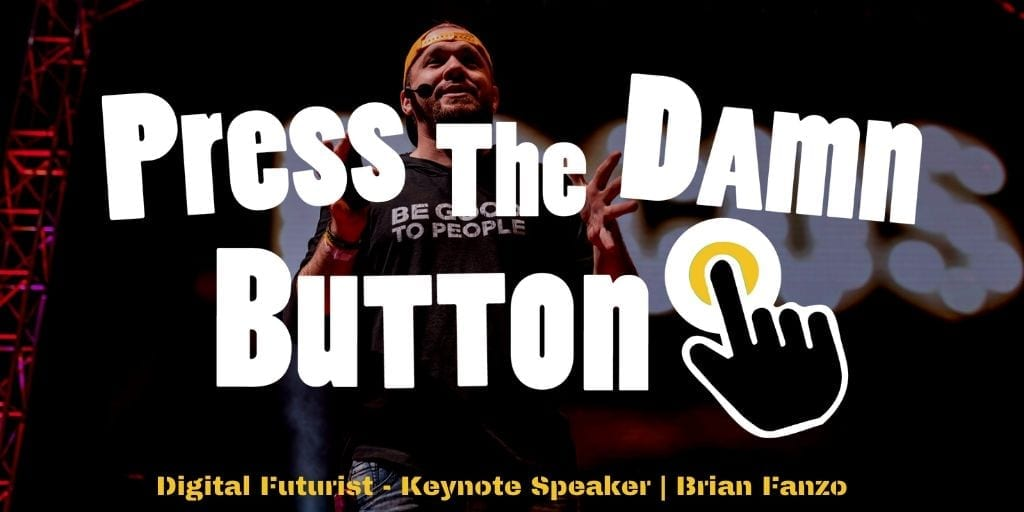Press The Damn Button Homepage Graphic