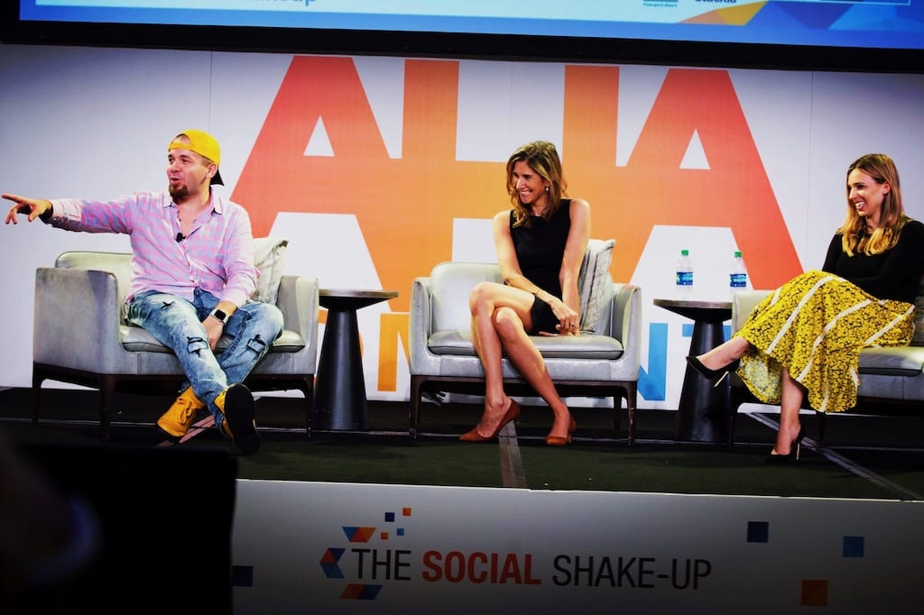 Host Panel Social Shake Up 2019 Brian Fanzo and Founders of TheSkimm