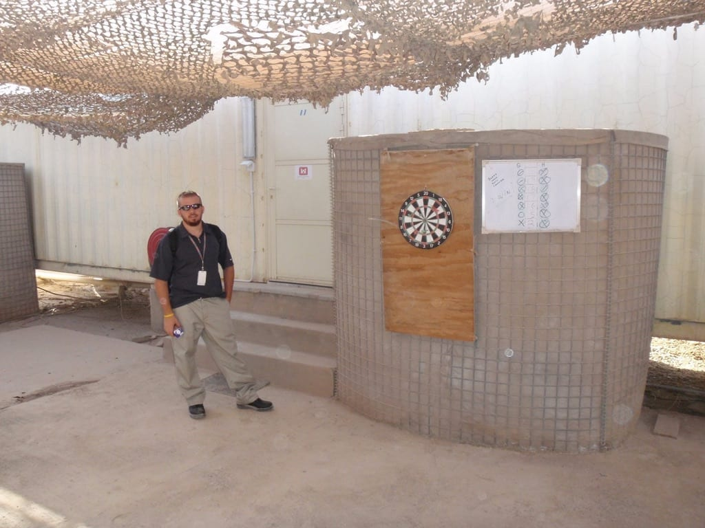 IRAQ 2008 Me Living Space