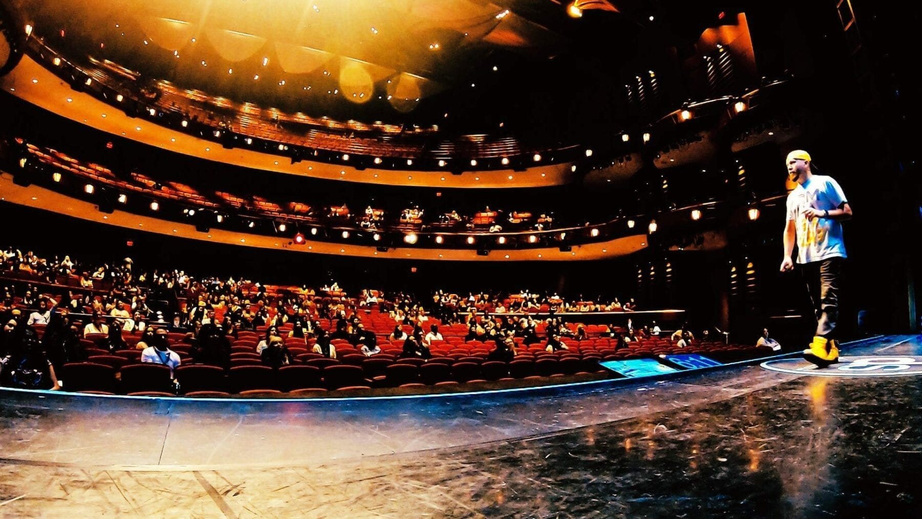 Huge Event Center Atlanta Stage