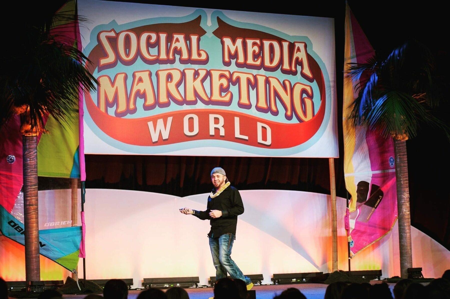 Social Media Marketing World Keynote Speaker Brian Fanzo