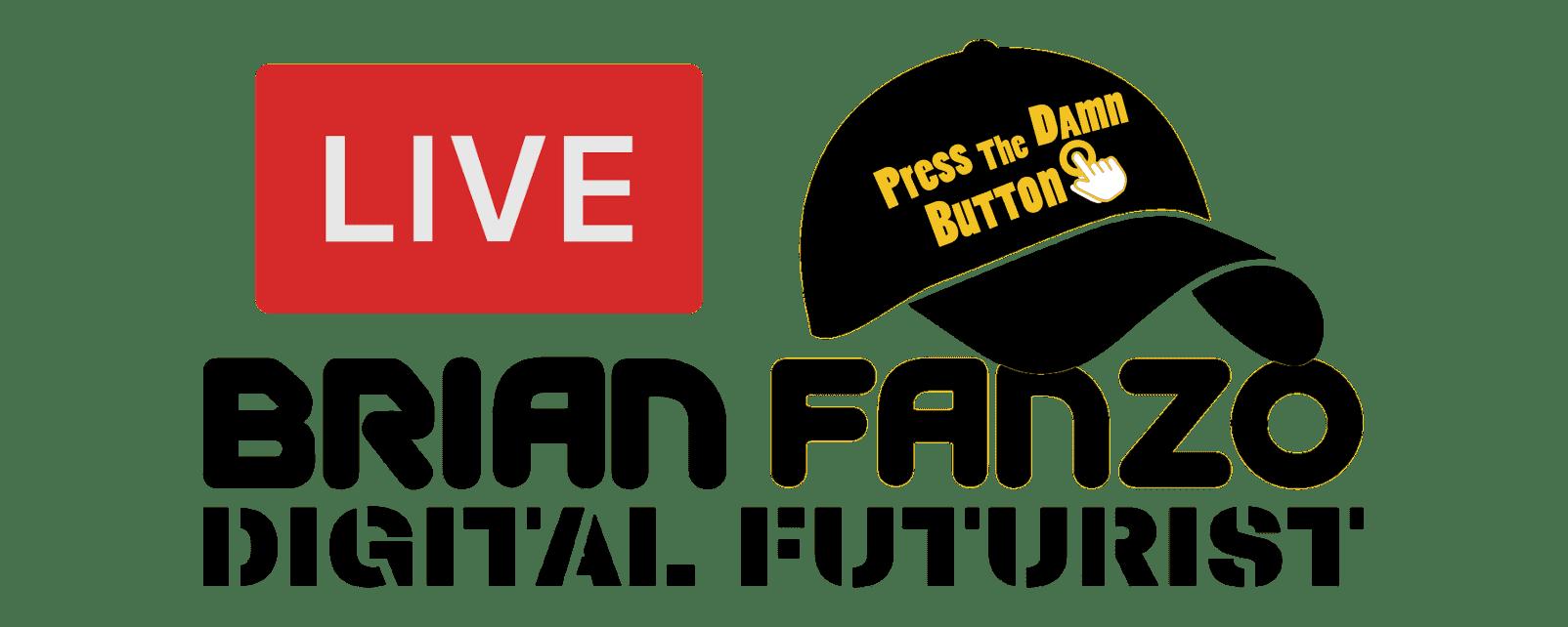 Brian Fanzo Live Digital Futurist Logo