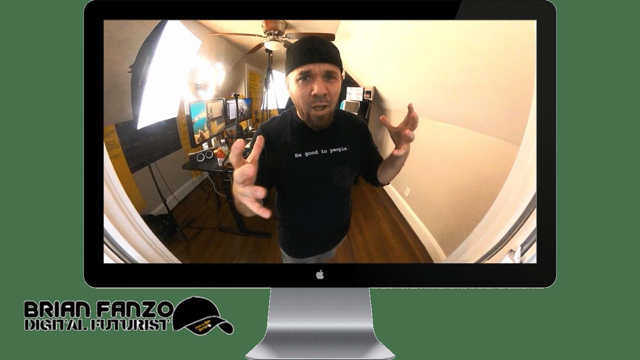 iSocialFanz Virtual Presenter in iMac