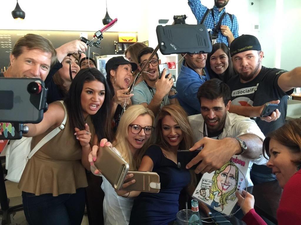 Periscope Summit Group Selfie
